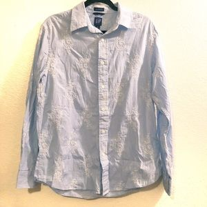 GAP buttoned top paisley print